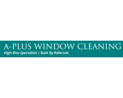 A-Plus Window Cleaning logo