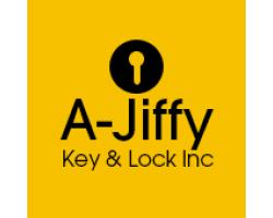 A-Jiffy Key and Lock Inc logo