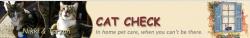 Cat Check Pet Sitting Services logo