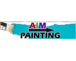 AIM Painting logo