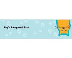 Peg's Pampered Pets Pet Sitting logo