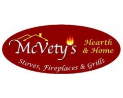 McVety's Hearth and Home logo