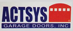 Actsys Garage Door Company logo