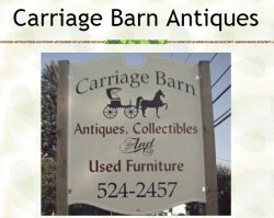Carriage Barn Antiques logo