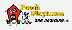 Pooch Playhouse and Boarding logo