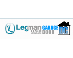 Legman USA Garage Door DC logo