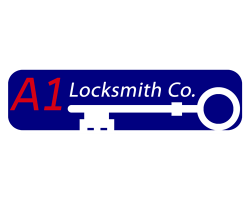 A-1 Locksmith Co. logo