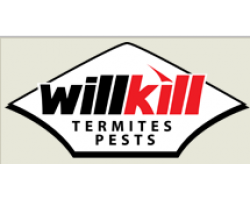 Will Kill Termites & Pests. logo
