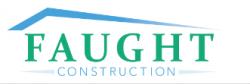 Faught Construction logo