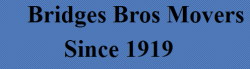 Bridges Bros Movers logo