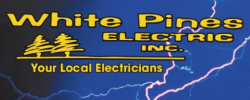 White Pines Electric Inc. logo