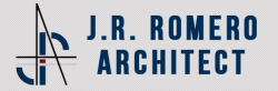 J.R. Romero, Architect  logo