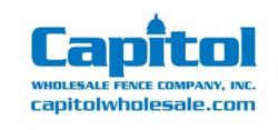 Capitol Wholesale Fence Company INC. logo