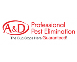 A&d Pest Elimination logo