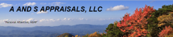 A and S Appraisals, LLC logo