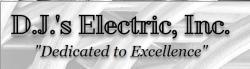 D.J.'s Electric, Inc. logo