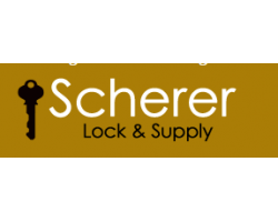 Scherer Lock & Supply logo
