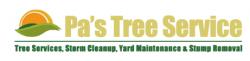 Pa's Tree Service logo