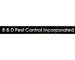 B And D Pest Control logo