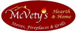 McVety's Hearth and Home logo