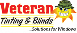 Veteran Tinting & Blinds logo