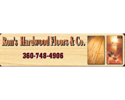 Ron's Hardwood Floors & Co. logo