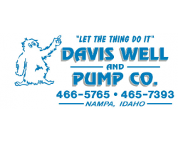 Davis Well and Pump Co. logo