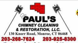 Paul's Chimney Cleaning & Restoration logo