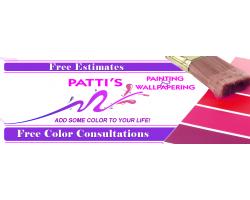 Patti's Painting logo
