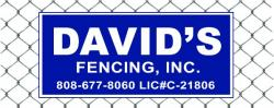 David's Fencing Inc. logo