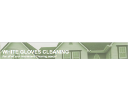 White Gloves Cleaning logo