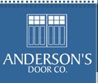 Anderson's Door Company, Seattle Garage Doors logo