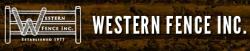 Western Fence Inc. logo