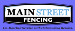 Main Street Fencing Co. logo