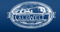James W. Caldwell Construction Company logo