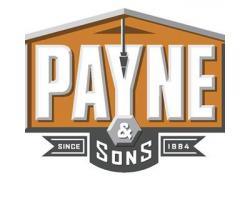 Payne & Sons Construction logo