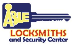 Able Locksmiths and Security Center logo