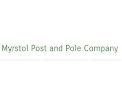 Myrstol Post and Pole Company logo