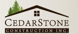 CedarStone Construction logo