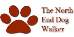 The North End Dog Walker logo
