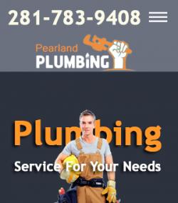 Pearland Plumbing logo