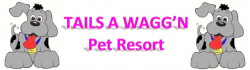 Tails A Wagg'n Pet Resort logo