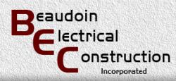 Beaudoin Electrical Construction logo