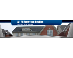 A 1 All American Roofing logo