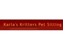 Karla's Kritters Pet Sitting logo