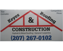 Keyes Roofing & Construction logo