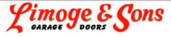 Limoge and Sons Garage Doors logo