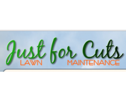 Just for Cuts Lawn Maintenance logo