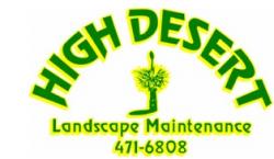 High Desert Landscape logo
