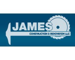 James Construction and Renovation logo